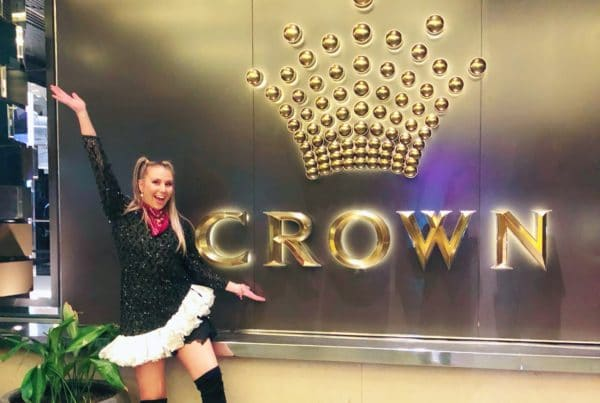 Redtie at the Crown Casino